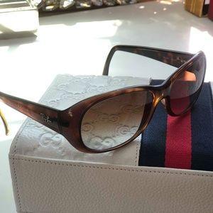 RAYBAN RB4061 Havana Brown Sunglasses 64 B #166